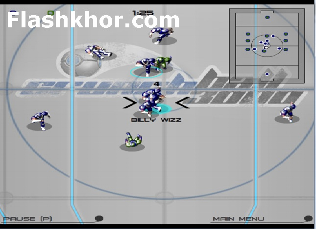 بازی آنلاین فوتبال آمریکایی 3000 - ورزشی فلش