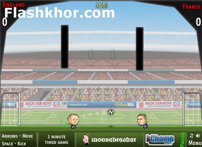 بازی آنلاین فوتبال بین کله ها جام ملت های اروپا - ورزشی فلش