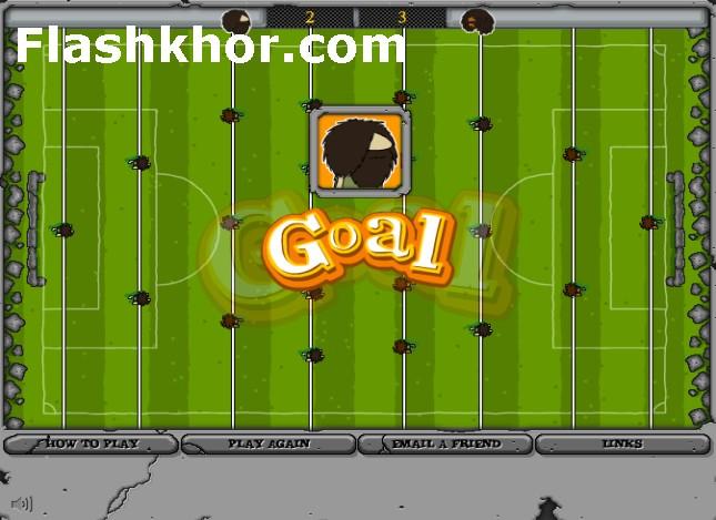 بازی آنلاین فوتبال دستی جدید - ورزشی فلش