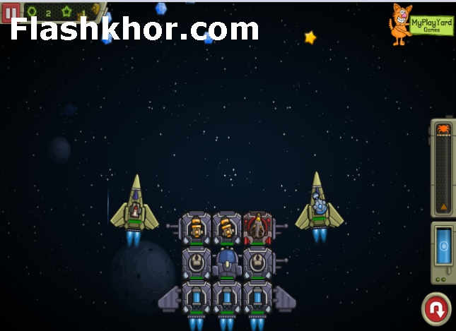 بازی آنلاین فضایی محاصره کهکشان 2 - تیراندازی فلش