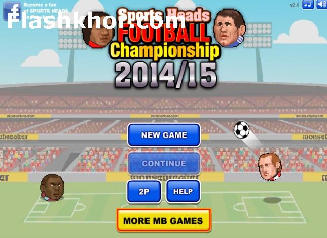 بازی آنلاین فوتبال بین کله ها قهرمانی لیگ برتر 2015-2014 - ورزشی فلش