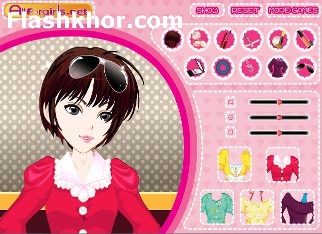 بازی آنلاین مدل لباس دختر شیک پوش در جشن تولد دخترانه فلش