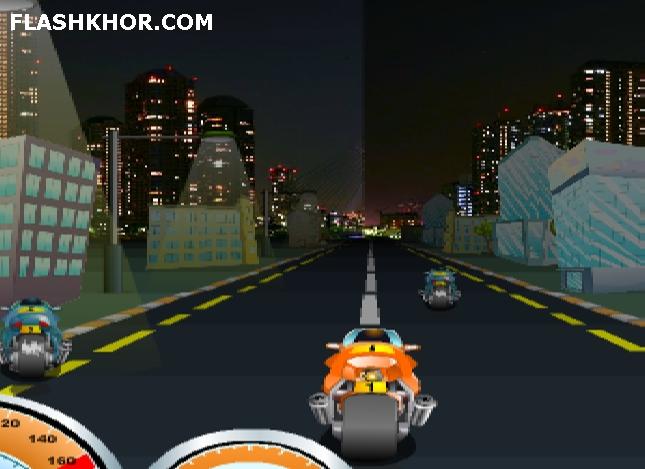 بازی آنلاین عشق موتور سواری - ورزشی فلش