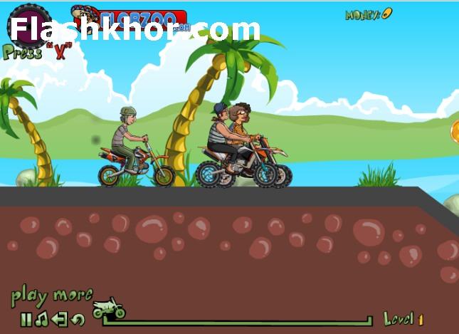 بازی آنلاین دوچرخه سواری مسابقات قهرمانی کوهستان - ورزشی فلش