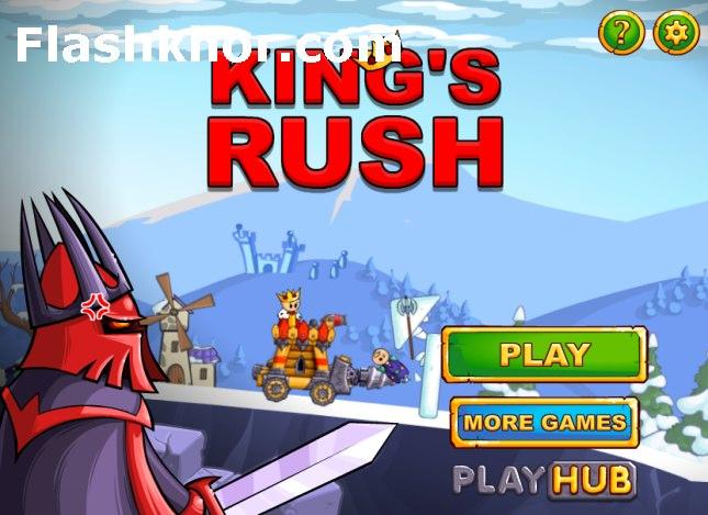 بازی آنلاین یورش پادشاه - اکشن فلش
