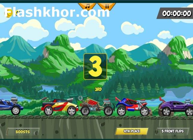 بازی آنلاین مسابقات ماشین سواری جام ویژه - ورزشی فلش