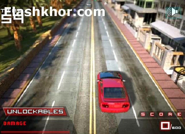 بازی آنلاین ماشین سواری کم حجم راننده قرمز 4 فلش