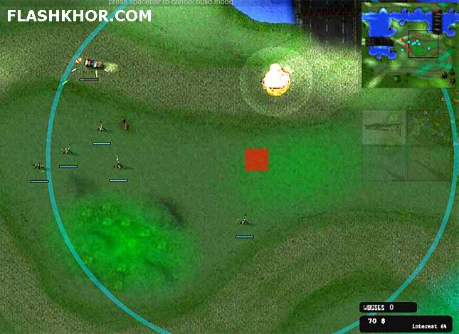بازی آنلاین دختر فرمانده - استراتژی فلش
