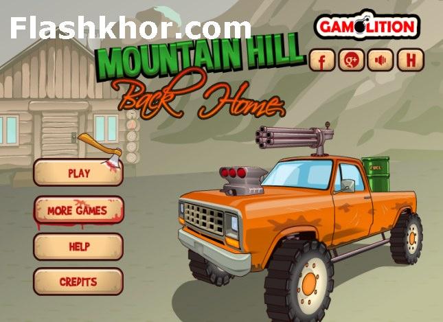 بازی آنلاین کامیون برای کامپیوتر چالش کوهستان فلش