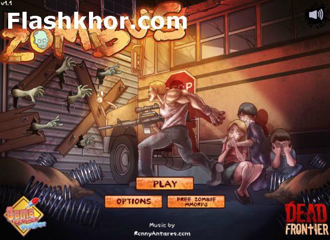 بازی آنلاین اتوبوس کشتار زامبی ها اکشن فلش