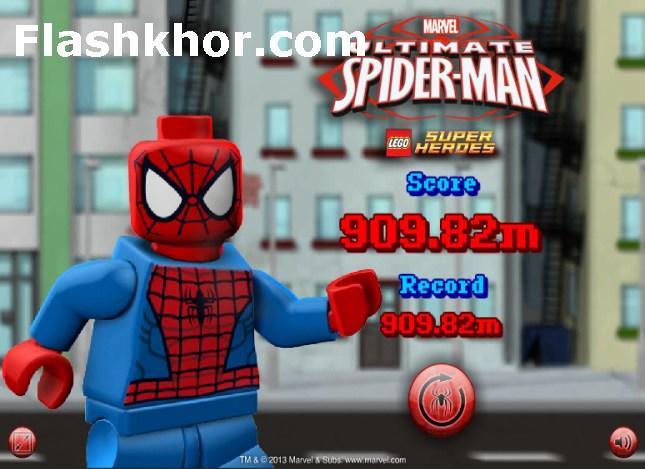 بازی آنلاین مرد عنکبوتی برای کامپیوتر فلش