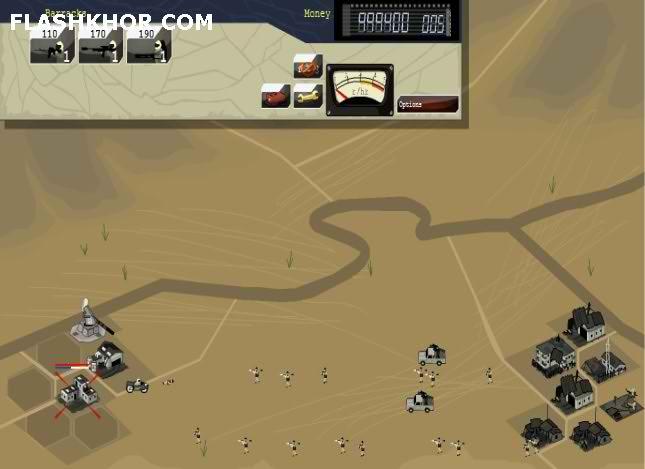 بازی آنلاین دریای آتش 2 - استراتژی فلش