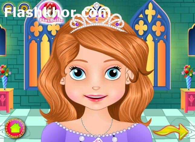 بازی آنلاین شاهزاده سوفیا جراحی زیبایی فلش