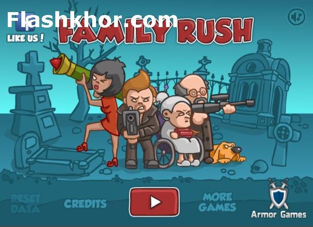 بازی آنلاین ارتشی خانوادگی جنگی فلش