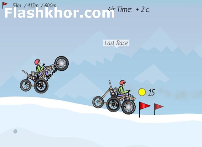 بازی آنلاین مسابقه ماشین سواری فلش