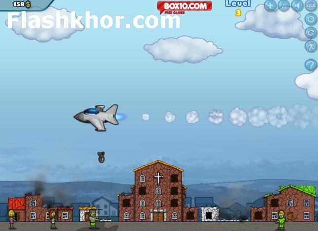 بازی آنلاین زامبی برای کامپیوتر فلش