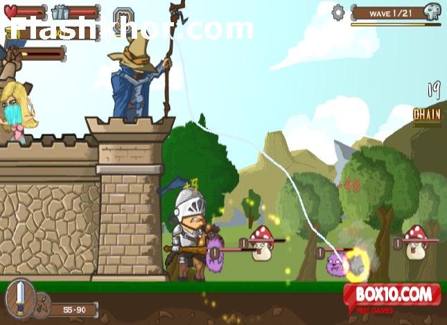 بازی آنلاین شوالیه شکست ناپذیر سیاه فلش