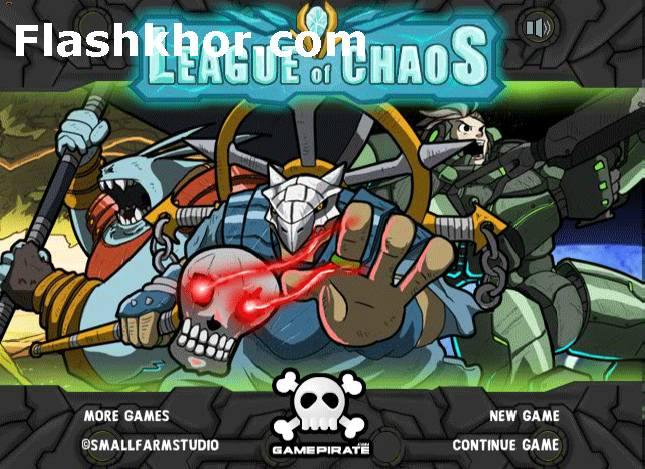 بازی آنلاین جنگ فضایی انقراض بشر فلش