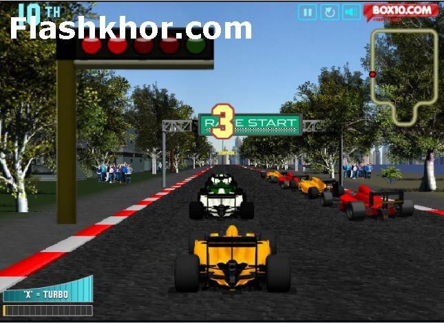 بازی آنلاین فرمول یک برای کامپیوتر فلش