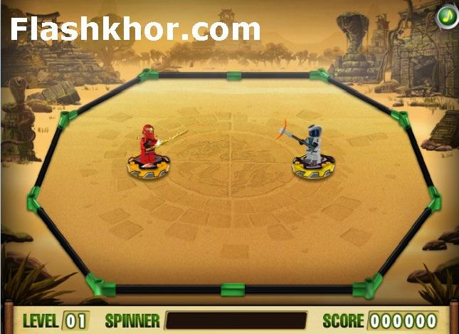 بازی آنلاین لگو نینجاگو 2 برای کامپیوتر اندروید فلش