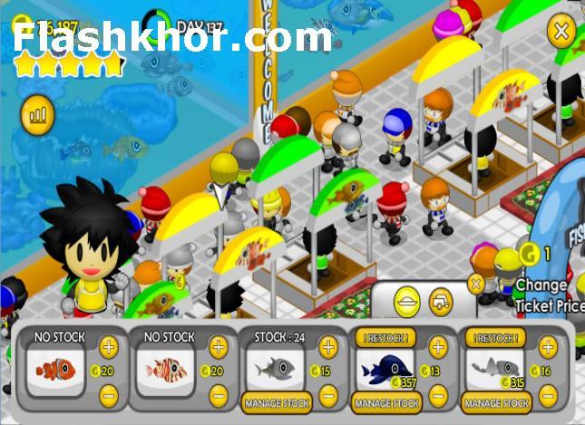 بازی آنلاین ماهیگیری برای کامپیوتر فلش