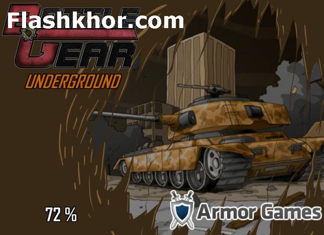 بازی آنلاین تانک برای کامپیوتر چرخ های جنگ فلش