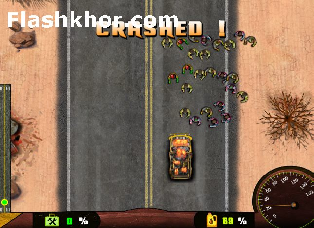 بازی آنلاین بزرگراه زامبی برای کامپیوتر اندروید فلش