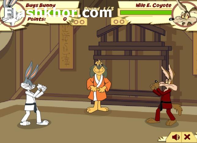 بازی آنلاین باگزبانی بانی خرگوشه فلش