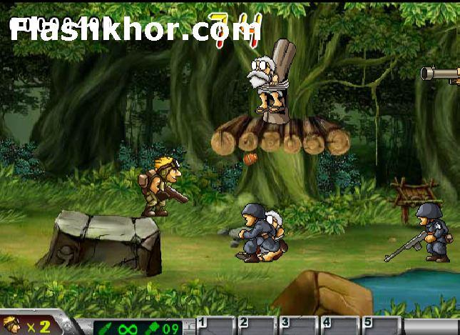 بازی آنلاین سرباز کوچولو برای کامپیوتر اندروید فلش