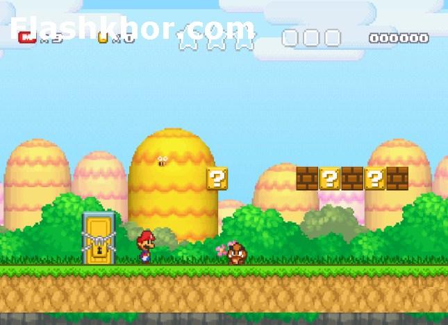 بازی آنلاین ماریو برای کامپیوتر اندروید قارچ خور 3 فلش