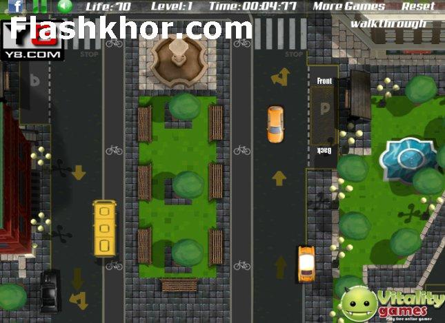 بازی آنلاین پارک اتوبوس برای کامپیوتر اندروید فرنزی فلش