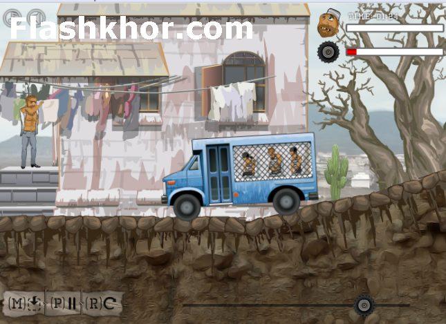 بازی آنلاین اتوبوس اسکانیا برای کامپیوتر اندروید فلش
