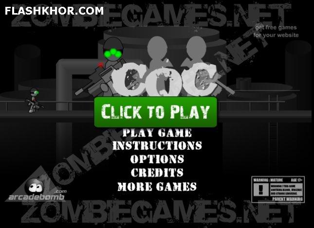 بازی آنلاین cqc - تیر اندازی فلش