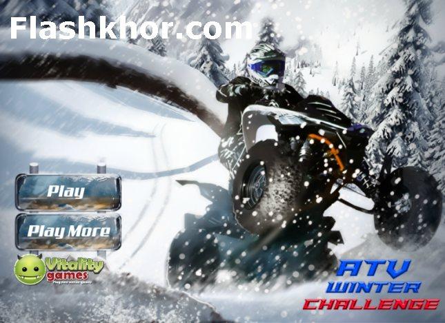 بازی آنلاین ای تی وی سواری چالش زمستان 2 فلش