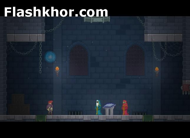 بازی آنلاین شمشیر زن نقاب دار اکشن فلش