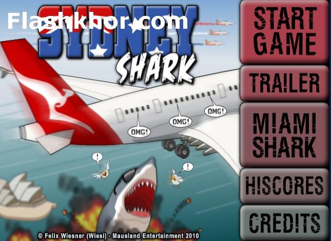 بازی آنلاین کوسه ای قاتل سیدنی اکشن فلش