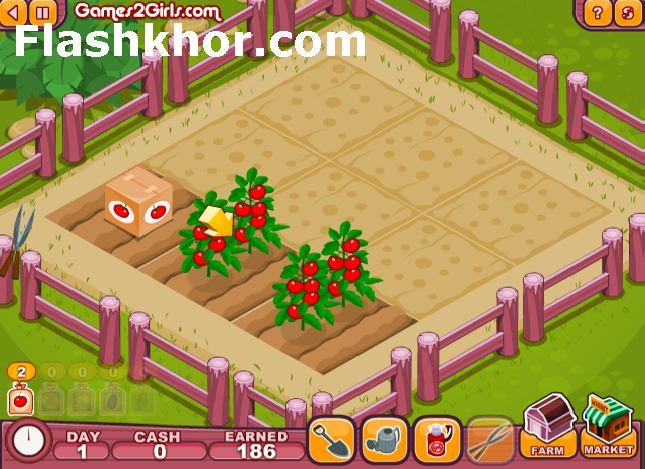 بازی آنلاین کشاورزی برای کامپیوتر اندروید مزرعه داری فلش