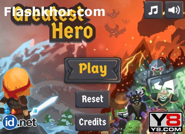بازی آنلاین بزرگترین قهرمان اکشن فلش
