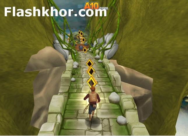 بازی آنلاین فرار از معبد 2 temple run 2  اندروید کامپیوتر آیفون فلش