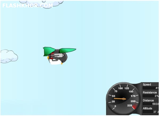 بازی آنلاین آموزش پرواز - اکشن فلش