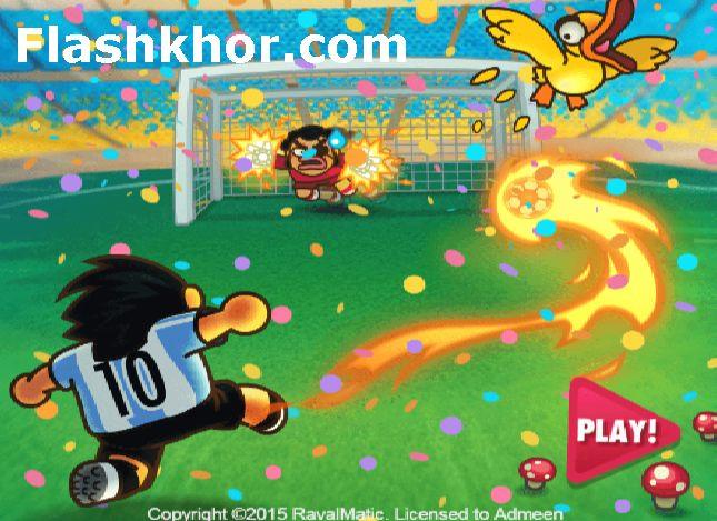 بازی آنلاین فوتبال ژاپنی اندروید کامپیوتر آیفون فلش