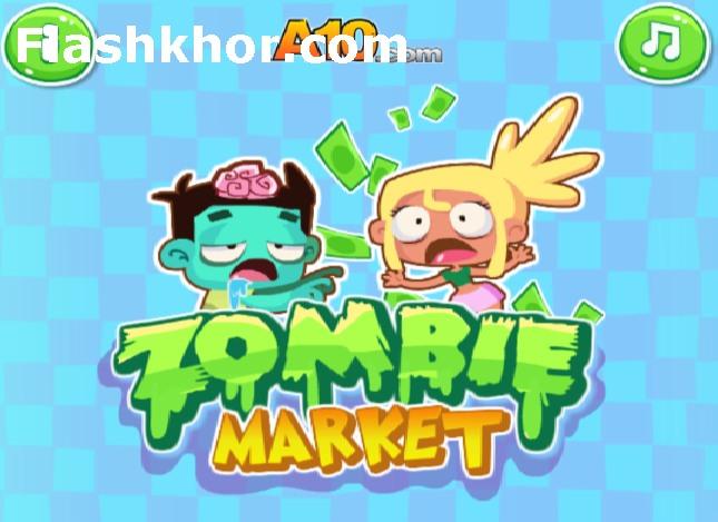 بازی آنلاین بازار زامبی اندروید کامپیوتر آیفون فلش