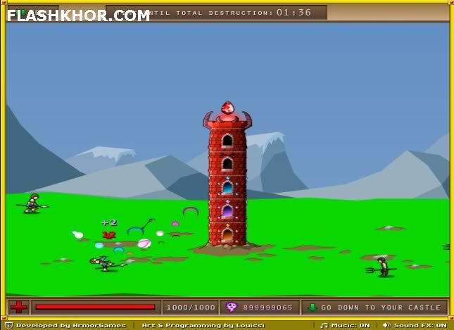 بازی آنلاین برج سرنوشت - استراتژی فلش