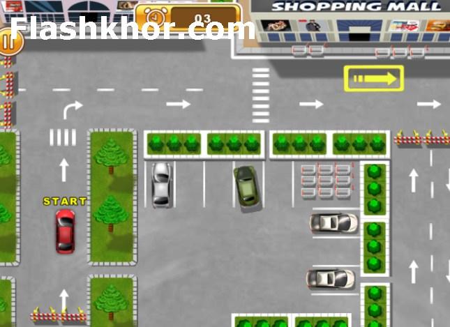 بازی پارک ماشین برای اندروید راننده ماهر