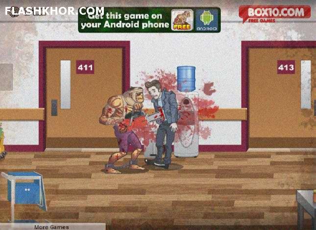 بازی آنلاین مرد جنگجوی زامبی - اکشن zombie فلش