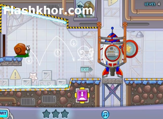 بازی باب حلزون 4 اندروید آنلاین کامپیوتر