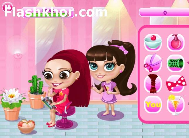 بازی مدیریت سالن آرایش اندروید آنا بازی آنلاین کامپیوتر دخترانه