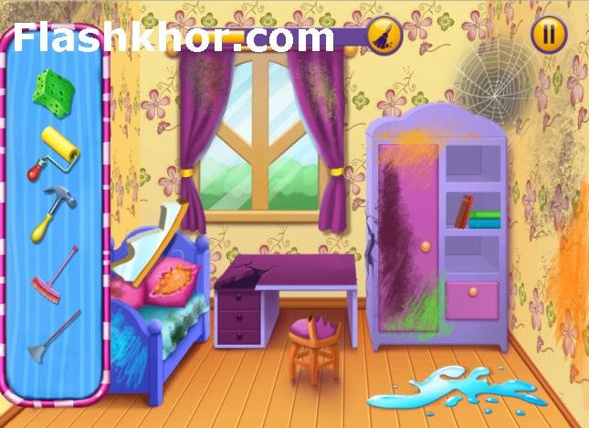 بازی مرتب كردن اتاق و خانه اندروید بازی آنلاین کامپیوتر آیفون