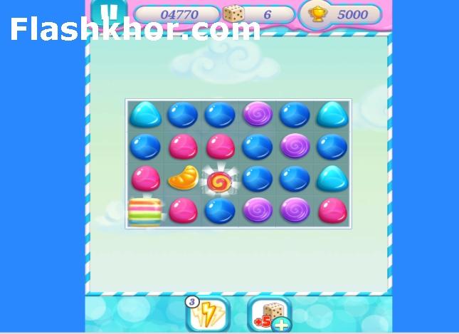 بازی آبنبات های رنگی اندروید باران آبنبات 3 بازی آنلاین کامپیوتر