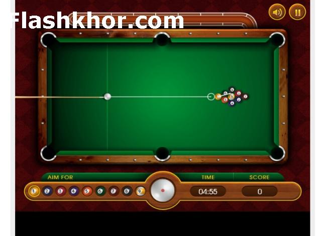 بازی بیلیارد 9 توپ اندروید ناین بال بازی آنلاین کامپیوتر آیفون
